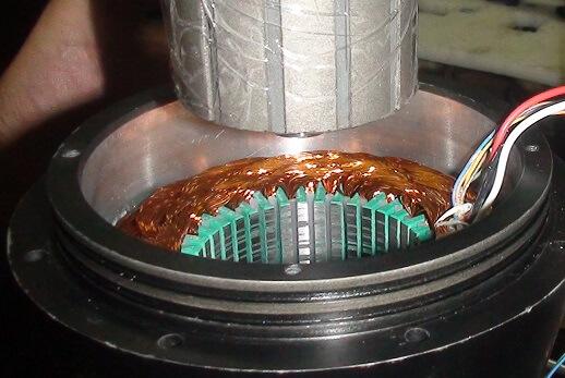 Housless PMSM motor